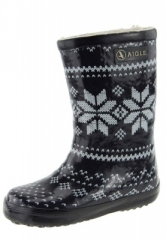 Kindergummistiefel Aigle - Lolly Pop Night - der gef�tterte Gummistiefel f�r den Winter