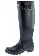 Hunter Gummistiefel -Orginal Tall black- ein schwarzer Gummistiefel in h�chster Qualit�t