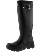 Hunter Gummistiefel - Orginal Tall Snow black - Handmade Qualit�t mit dickem 4 mm Neoprenfutter in h�chster Qualit�t