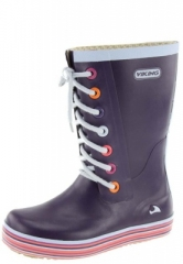 Kinder und Jugend Gummistiefel - RETRO SPRINKLE JUNIOR lilac- der trendige Viking Gummistiefel im Partnerlook