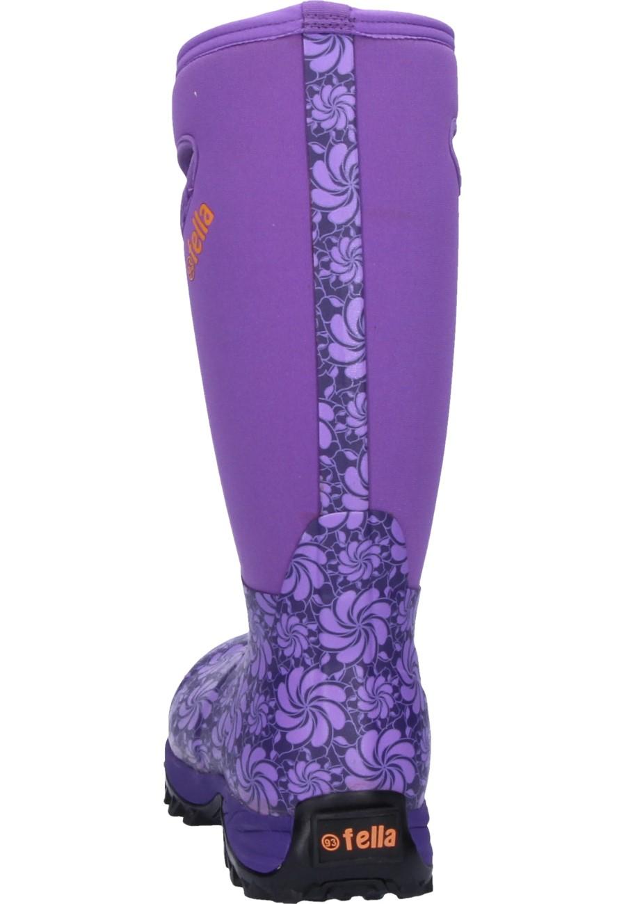 Fella Damen Gummistiefel EVA purple 42 JEQUWL