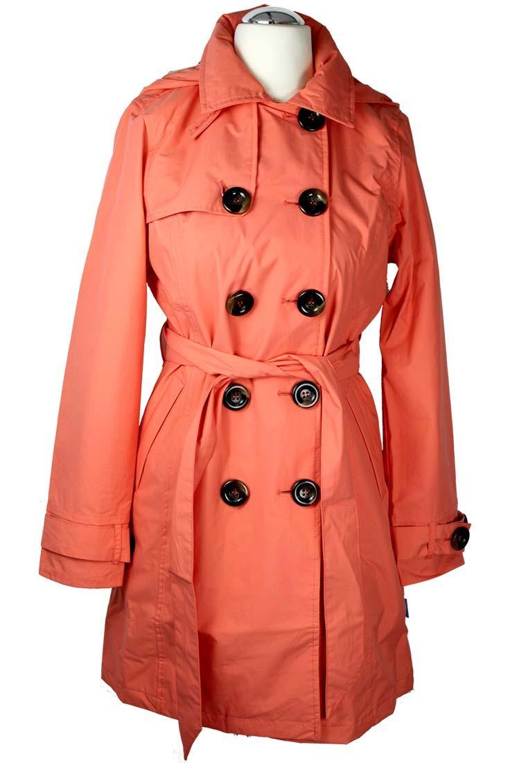 Regenjacke damen orange