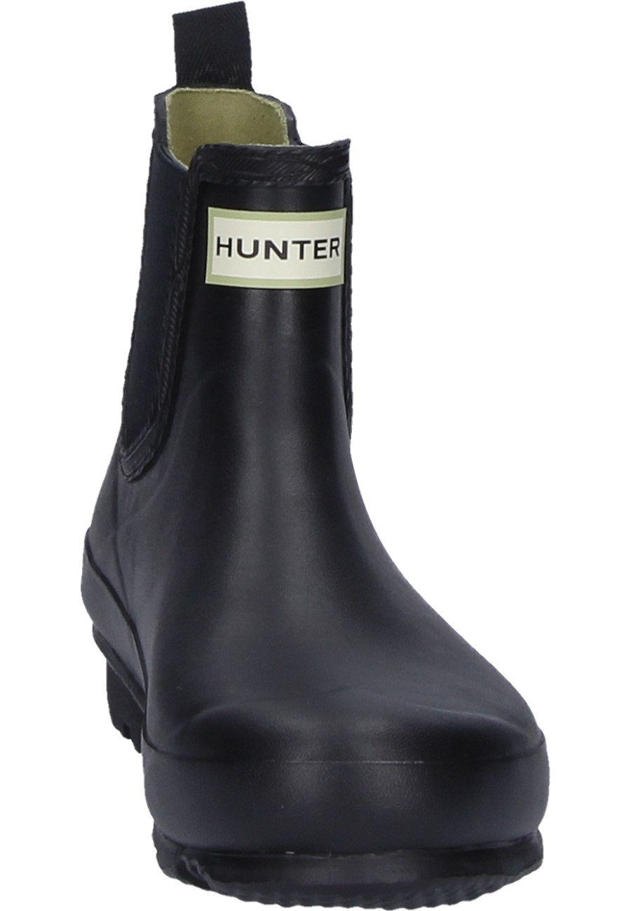 Hunter Damen Gummistiefelette NORRIS CHELSEA black 38 5HXqTTllnA