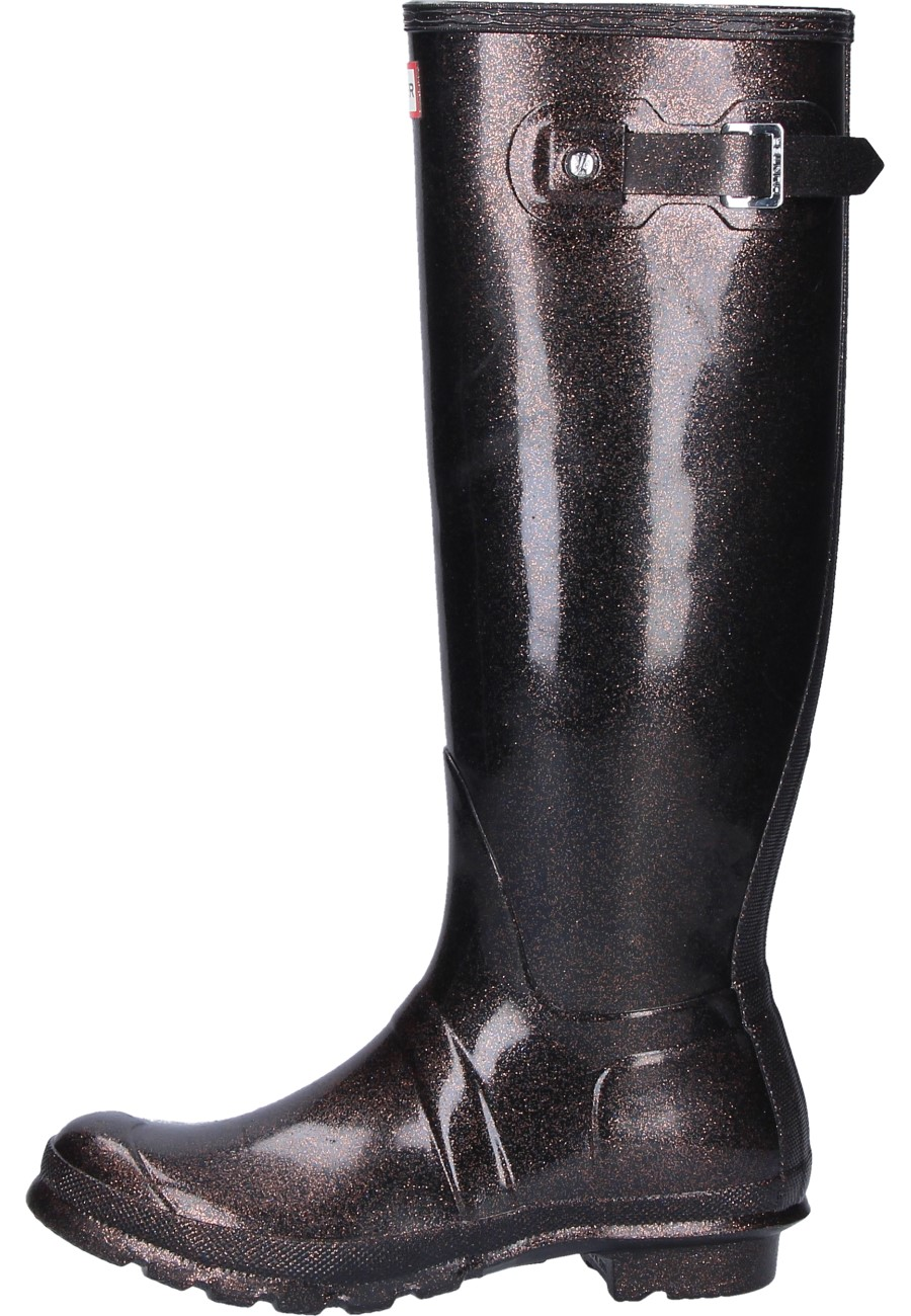 Hunter Damen Original Starcloud Tall Gummistiefel Grün