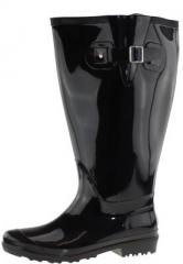 Wellie Xxl Gummistiefel Black Wide Weitschaft PwXn80Ok