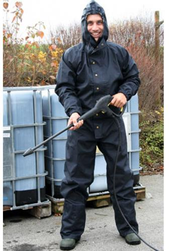 Wasch und reinigungsoverall regenschutzoverall mit kapuze for Rei fishing gear