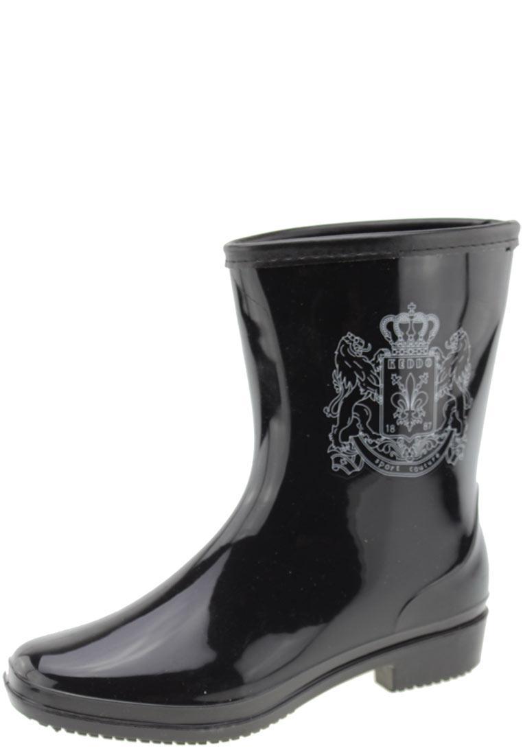 Keddo - Sport Couture - elegante schwarze Damen Stiefelette mit Keddo Emblem 37 RLkd4o