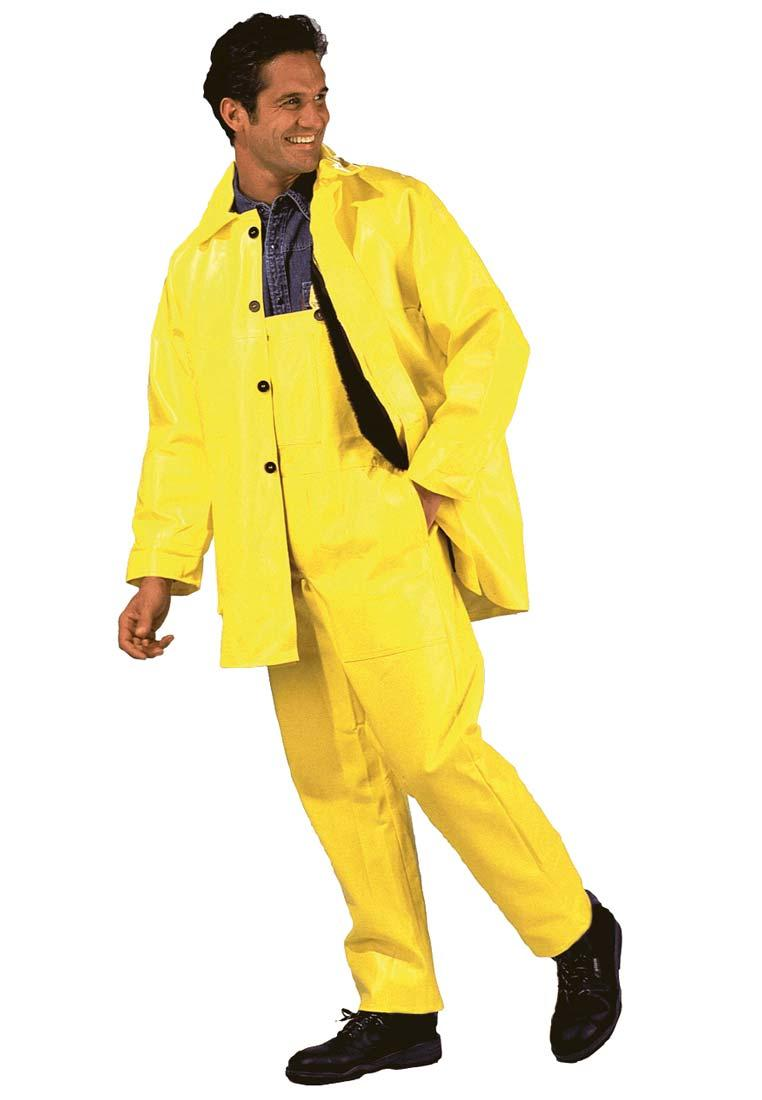 Winterbau Latzhose gelb die Latzhose mit Acryl Teddyfutter in Signalfarbe  für