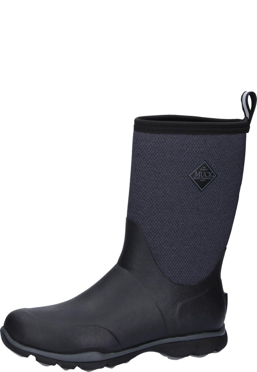 Muckboot Pacy II Black, Schuhe, Stiefel & Stiefeletten, Hohe Stiefel, Schwarz, Female, 36