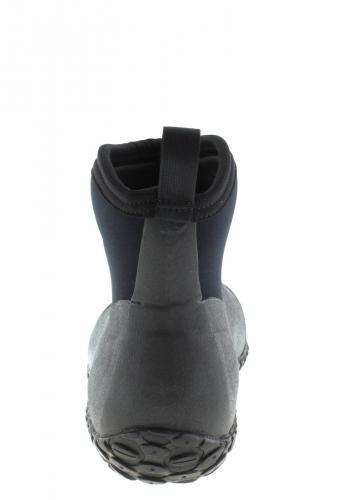 Damen Outdoorstiefel -EASYWALKER SHORT black- der fella Gummistiefel mit Gardening Sohle 39 qIodGYQz