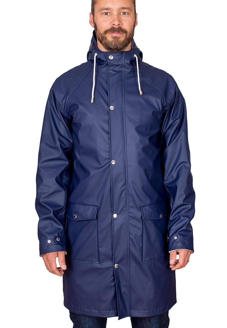 Regenmantel Evald Raincoat Navy Von Tretorn